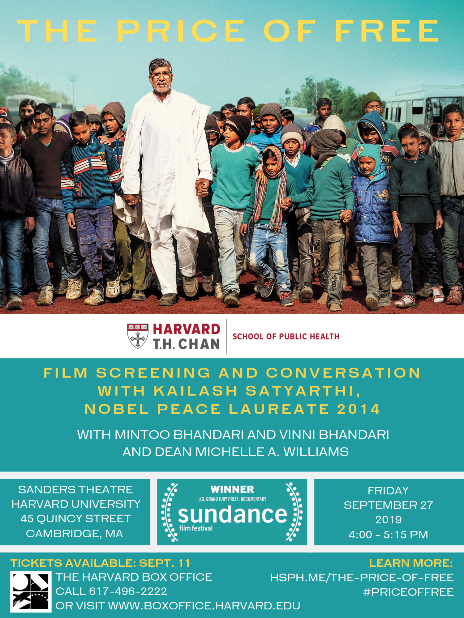 Poster for Film Screening and Conversation