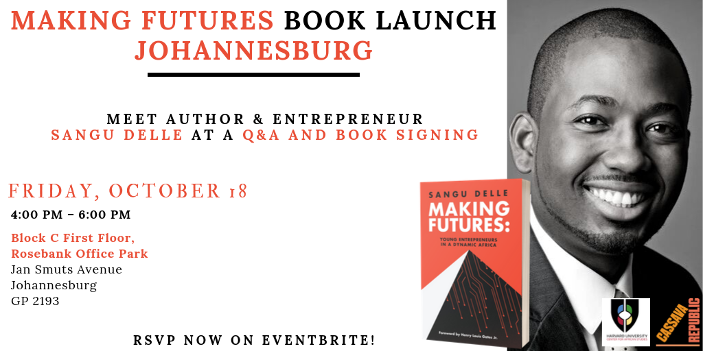 Making Futures Book Launch Banner Image.