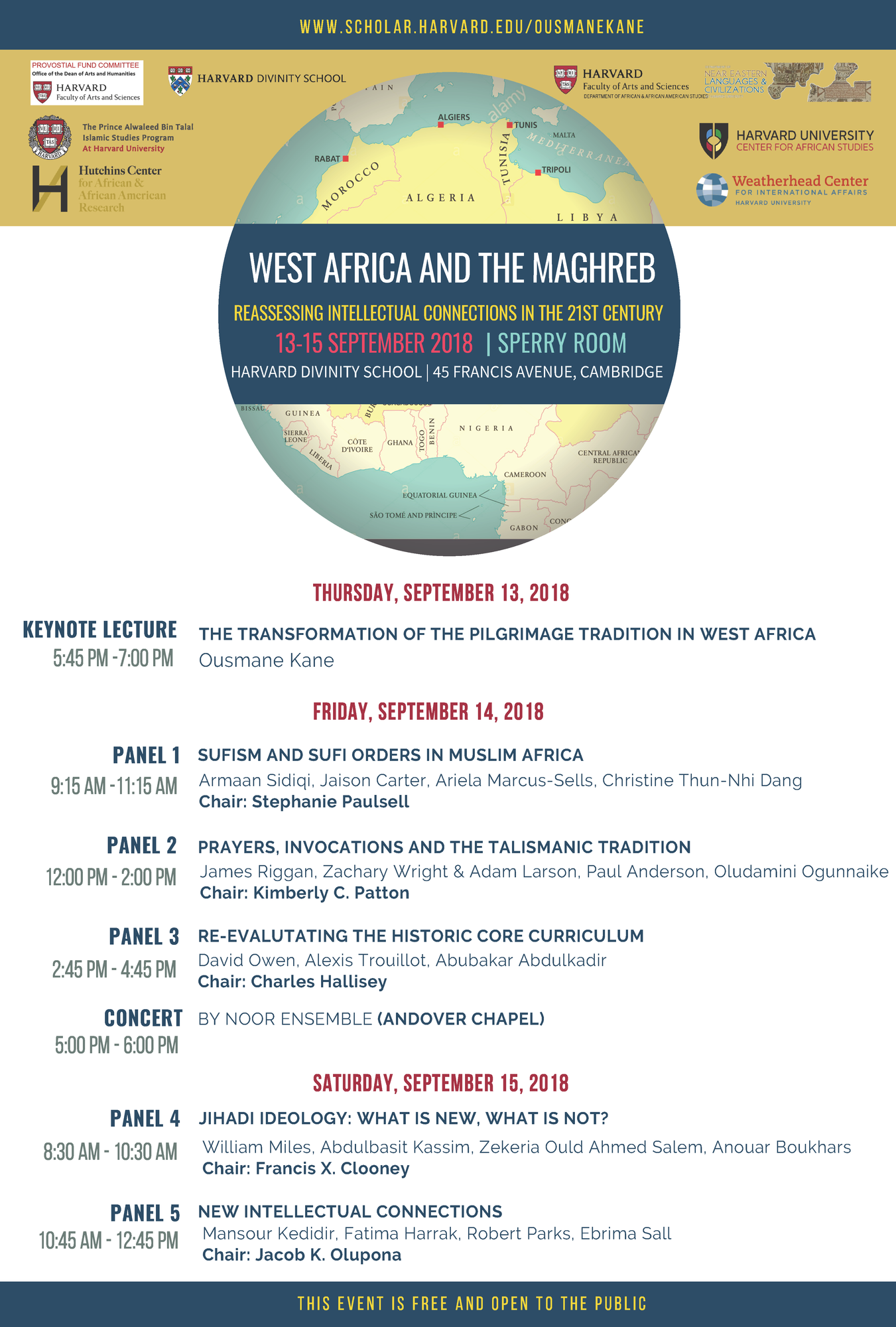 West Africa and the Maghreb Conference Poster