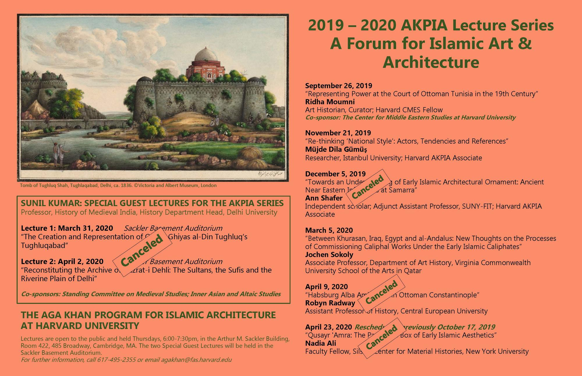 AKPIA Lecture Poster 2019 2020 as of 031120