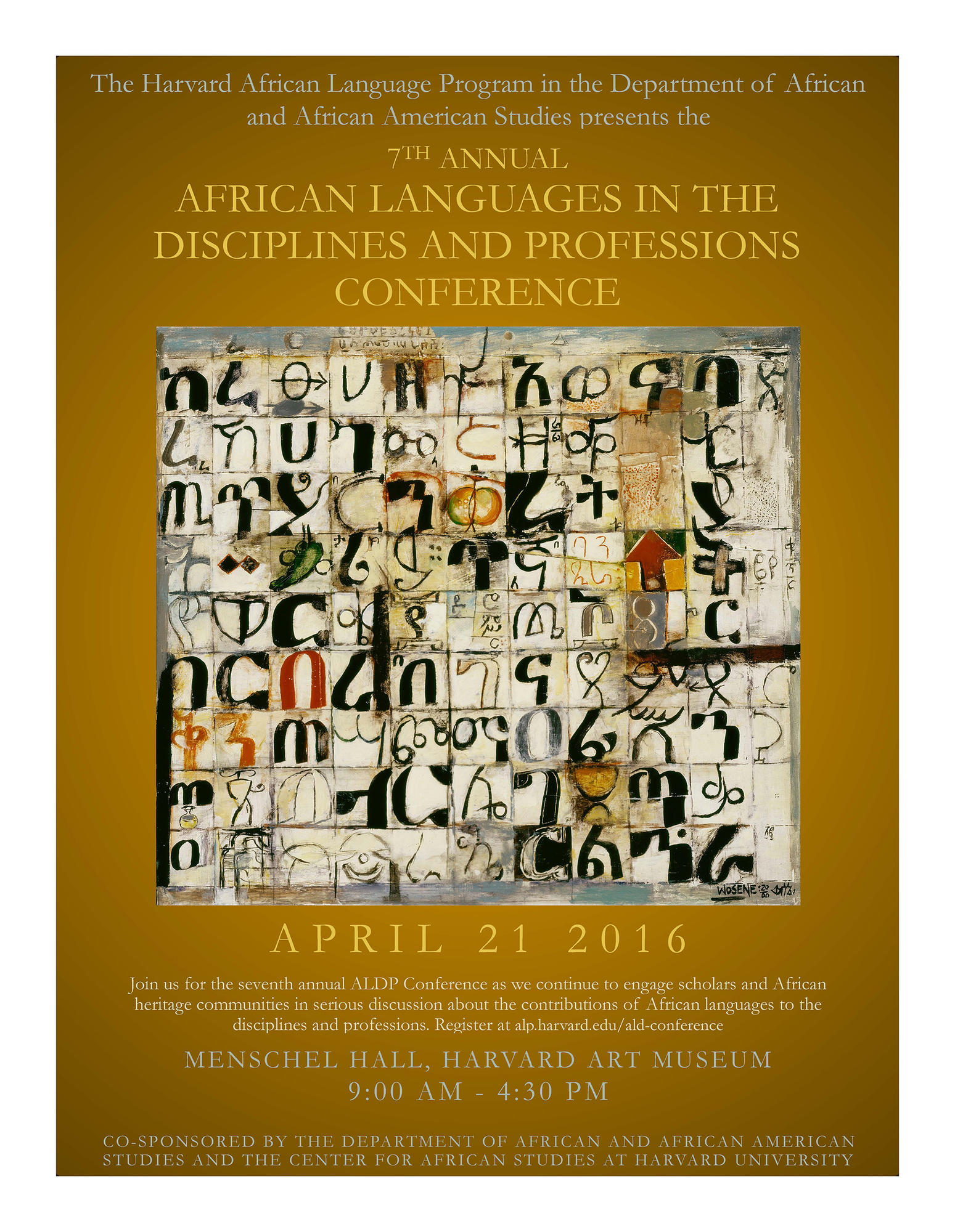 2016 african languages in the disciplines conference the african ald 2016 poster kristyandbryce Gallery