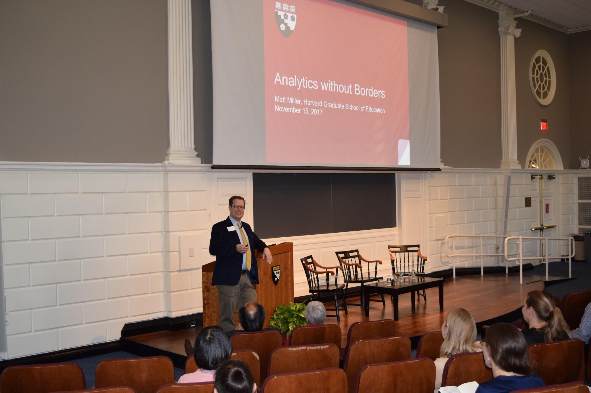 Matthew Miller, Associate Dean for Learning and Teaching, Lecturer on Education