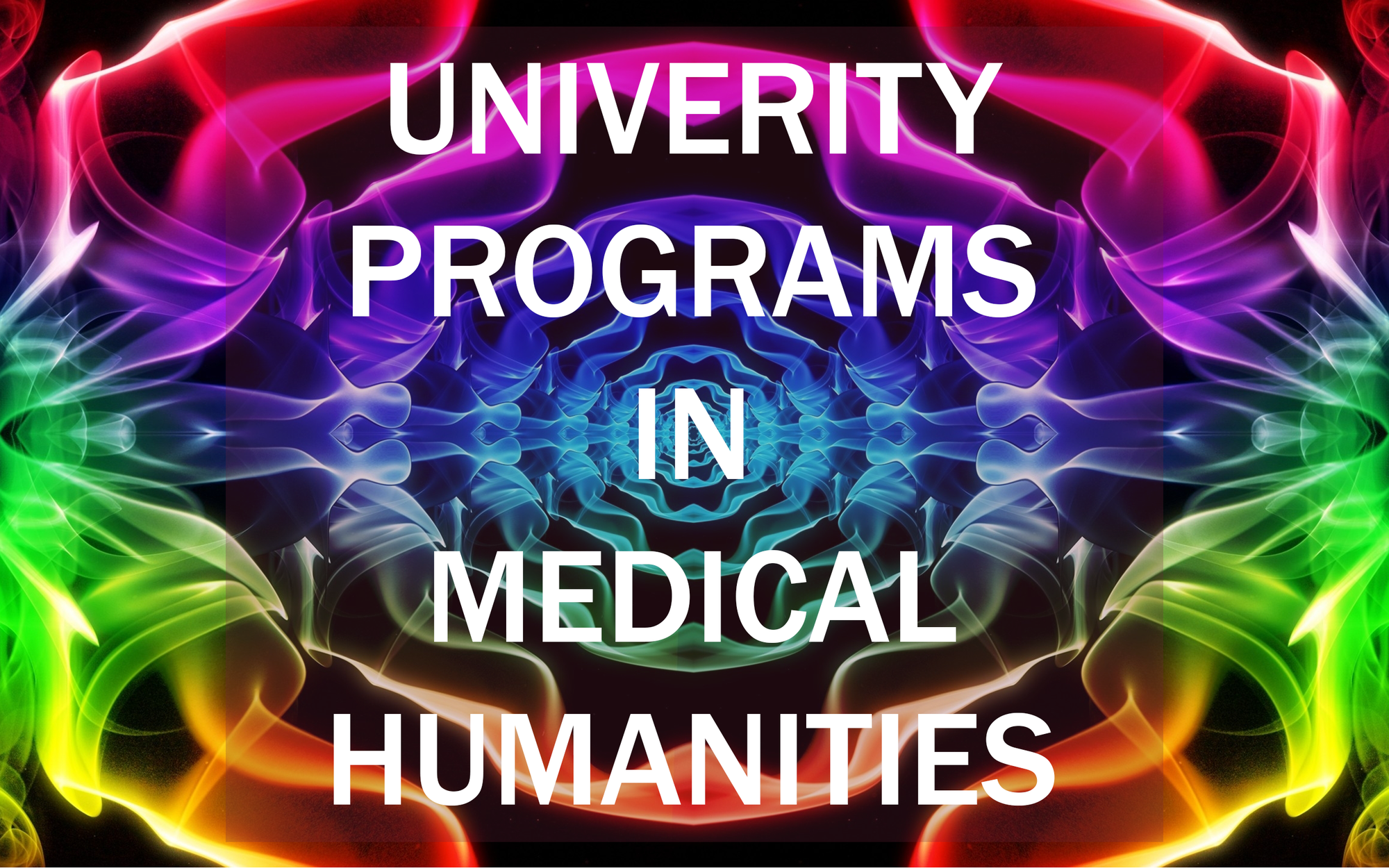 University programs in medical humanities