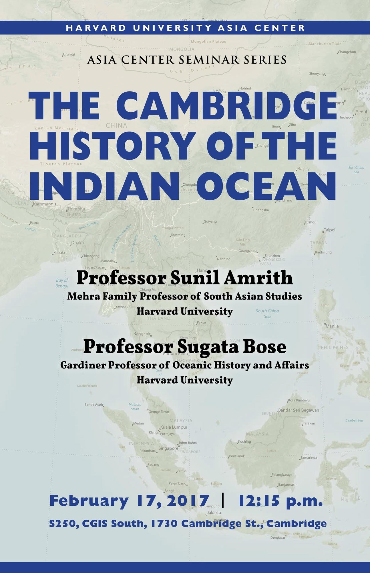 Cambridge History of Indian Ocean
