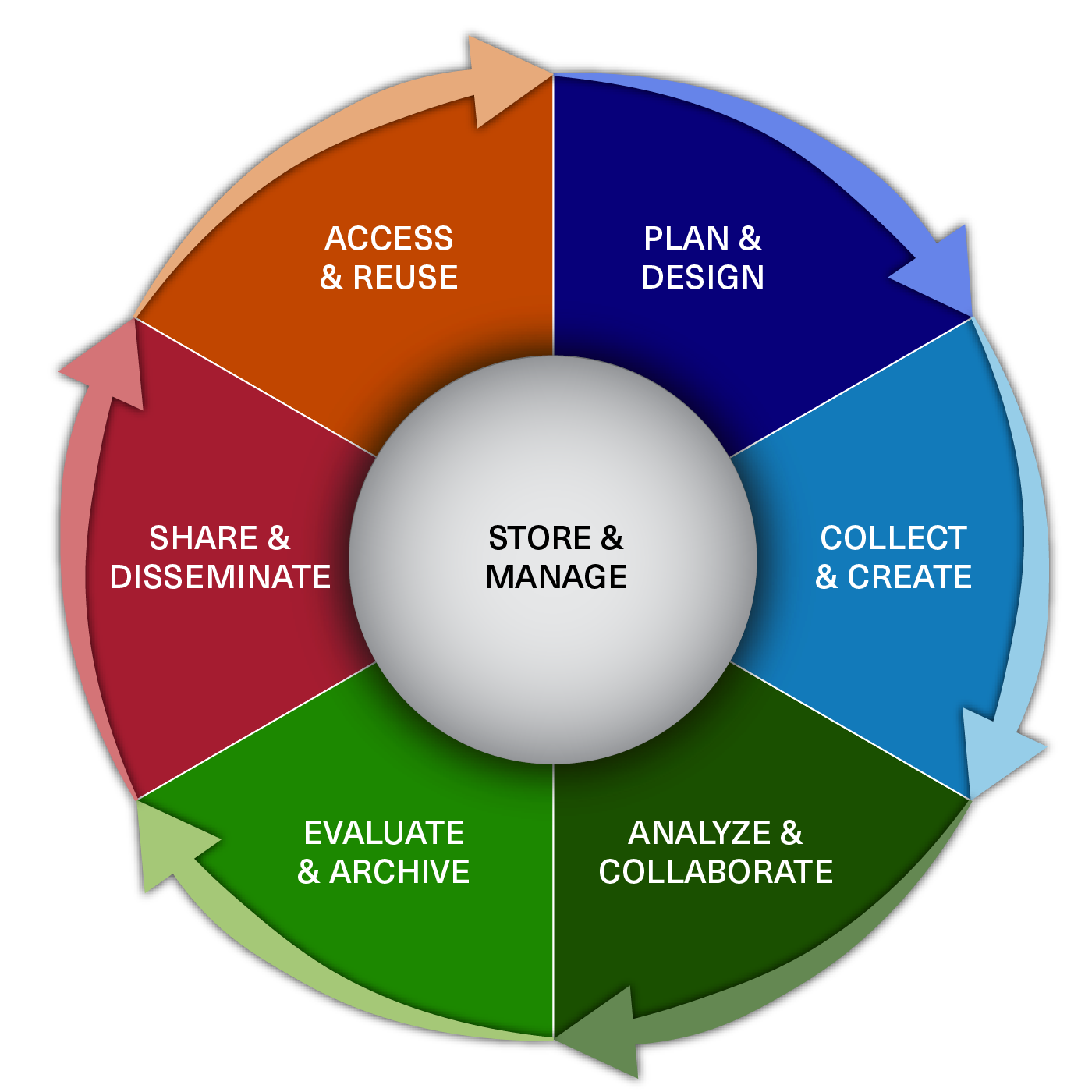 Biomedical Research Data Lifecycle