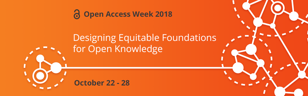 Open Access Week 2018 Banner