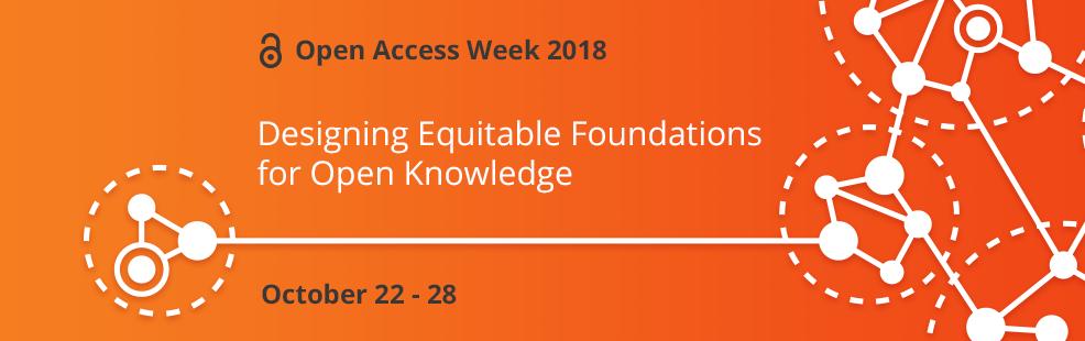 Open Access Week 2018 Banner