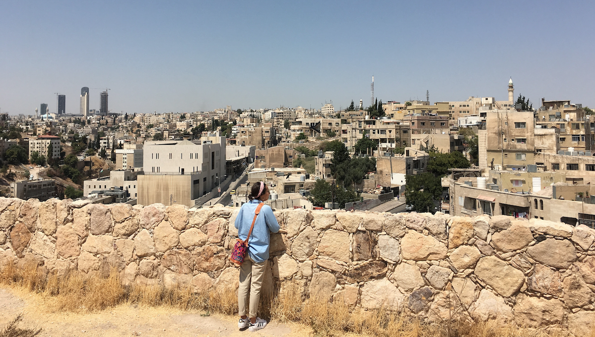 Overlooking Amman