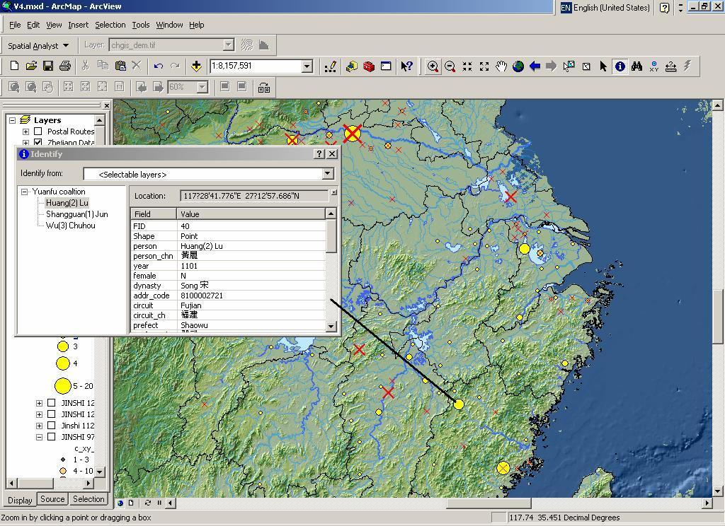 Computer program on map