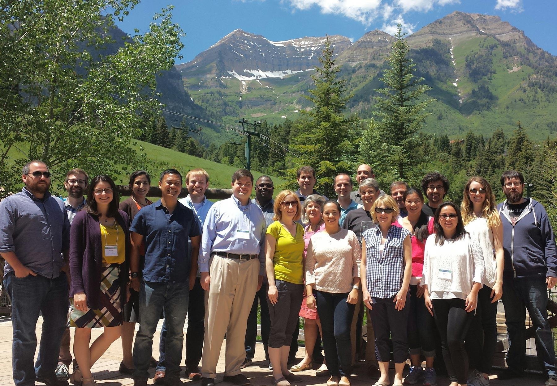 2015 CCES Conference attendees meet in Sundance, Utah