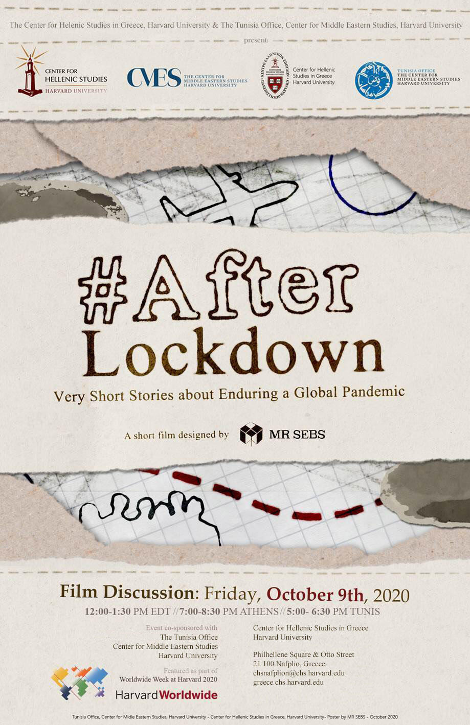 Poster of the After Lockdown film discussion