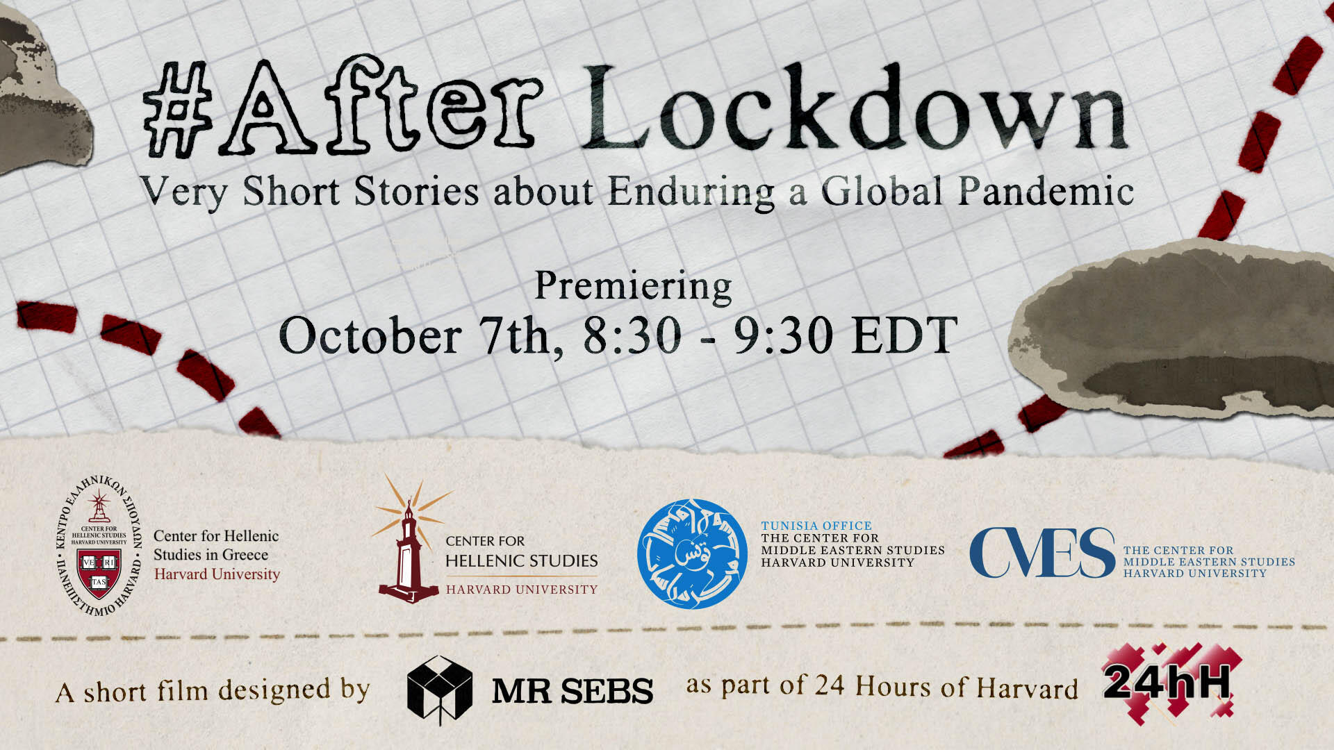 Poster of the After Lockdown film premiere