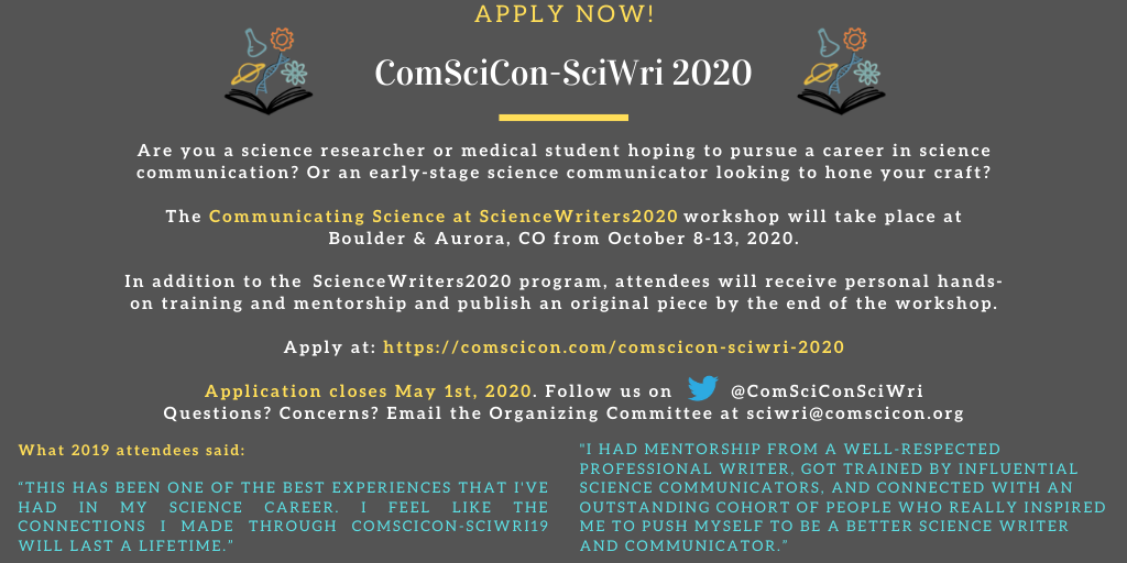 CSC-SciWri Updated Flyer