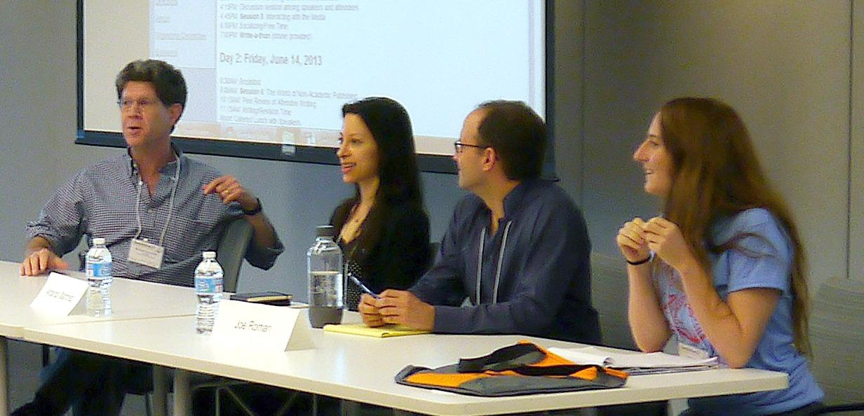 Panel discussion at ComSciCon'13