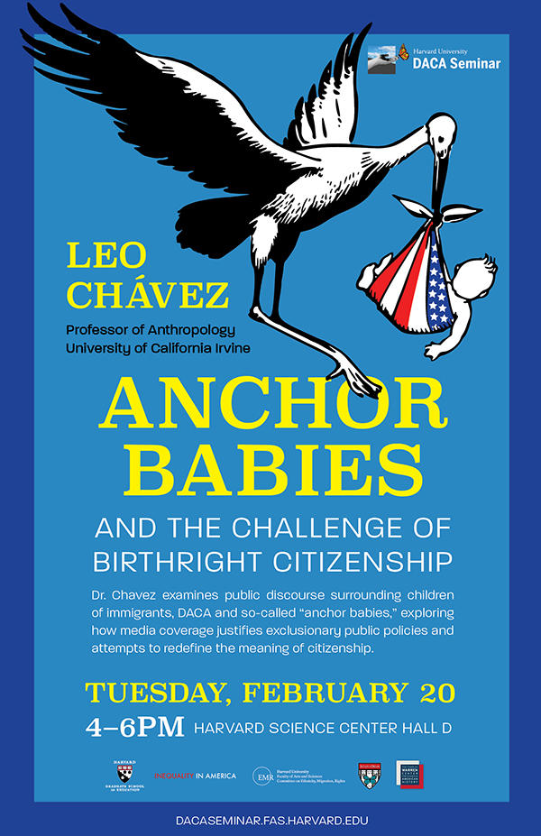Dr  Leo Chavez: Anchor Babies and The Challenge of