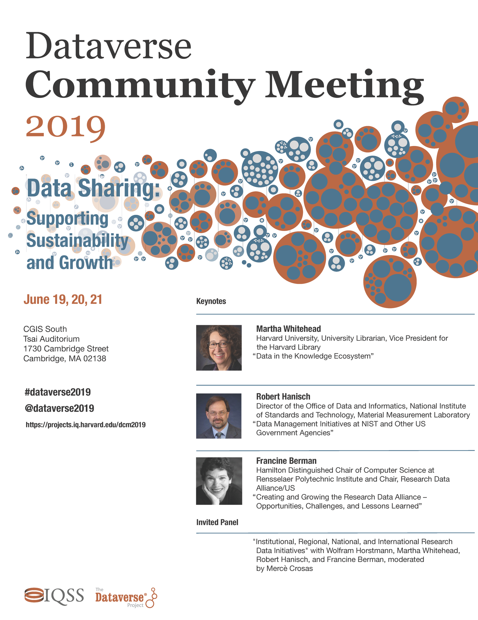 Dataverse Community Meeting Flyer
