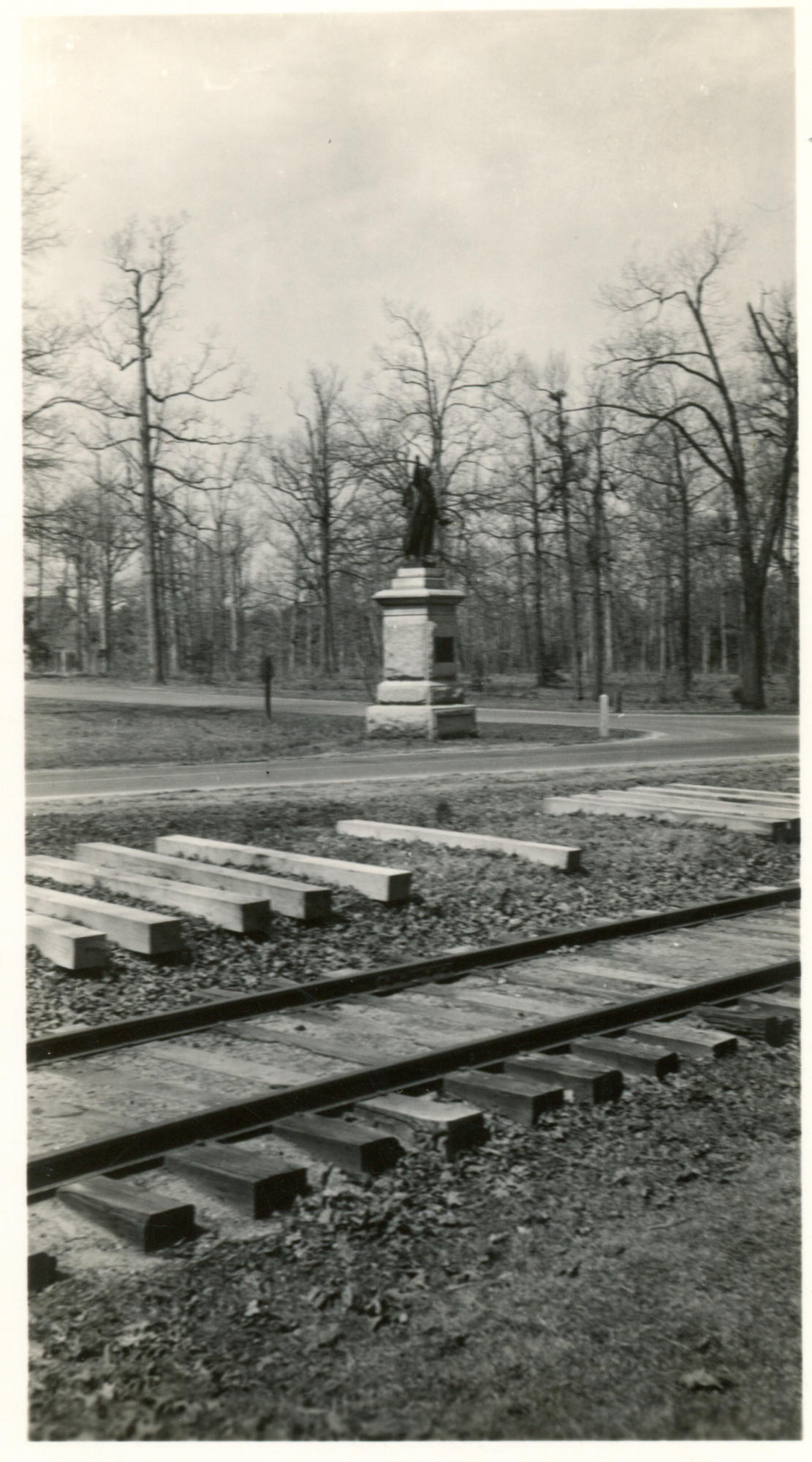 Signers Monument in its Original Location, Guilford Courthouse NMP