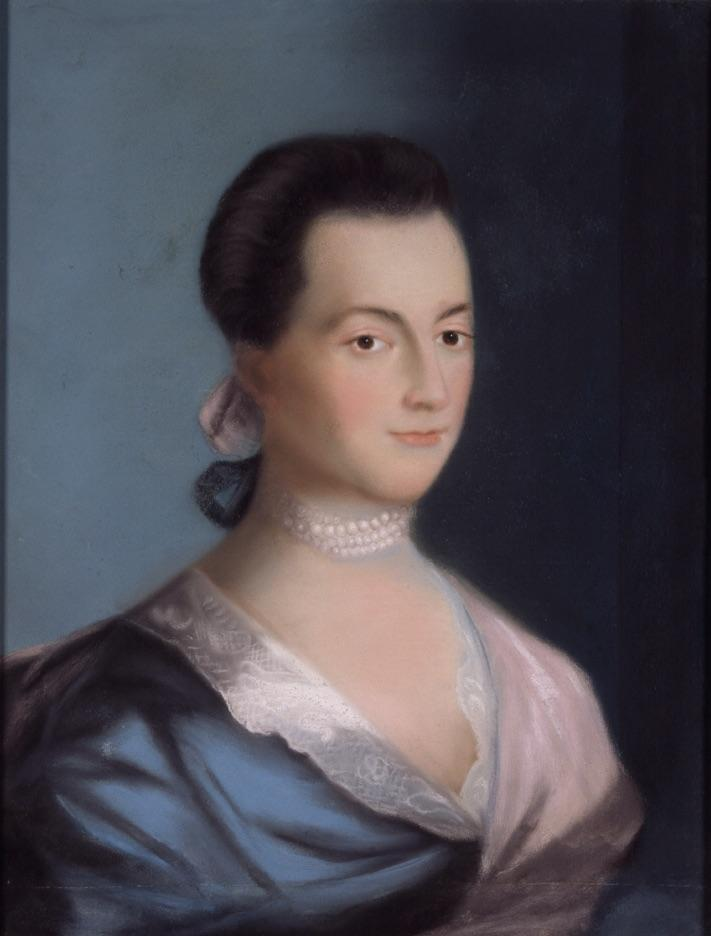Portrait of Abigail Adams, 1766