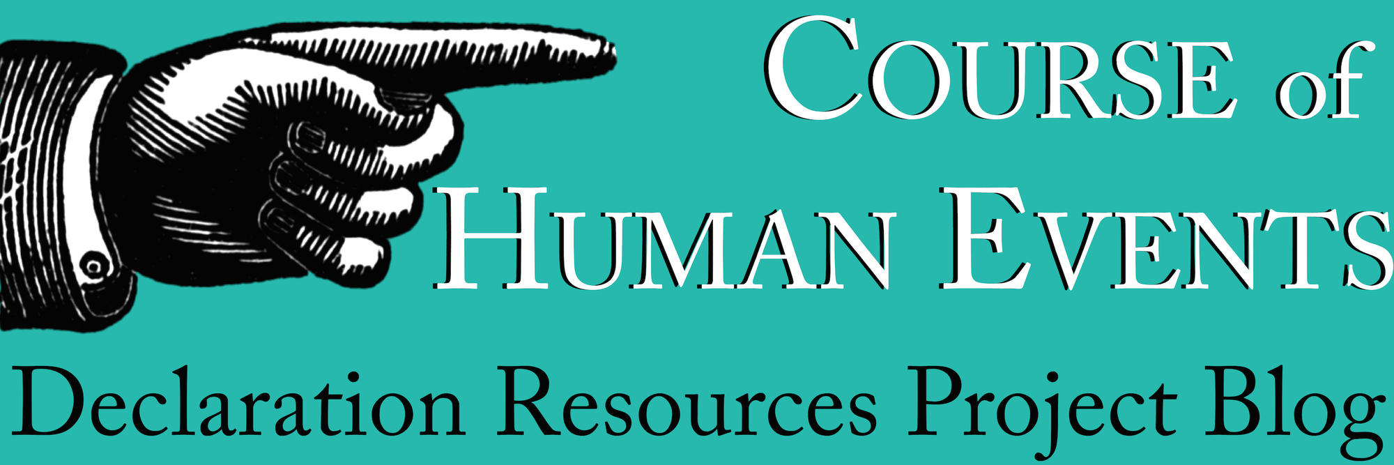 Course of Human Events Logo