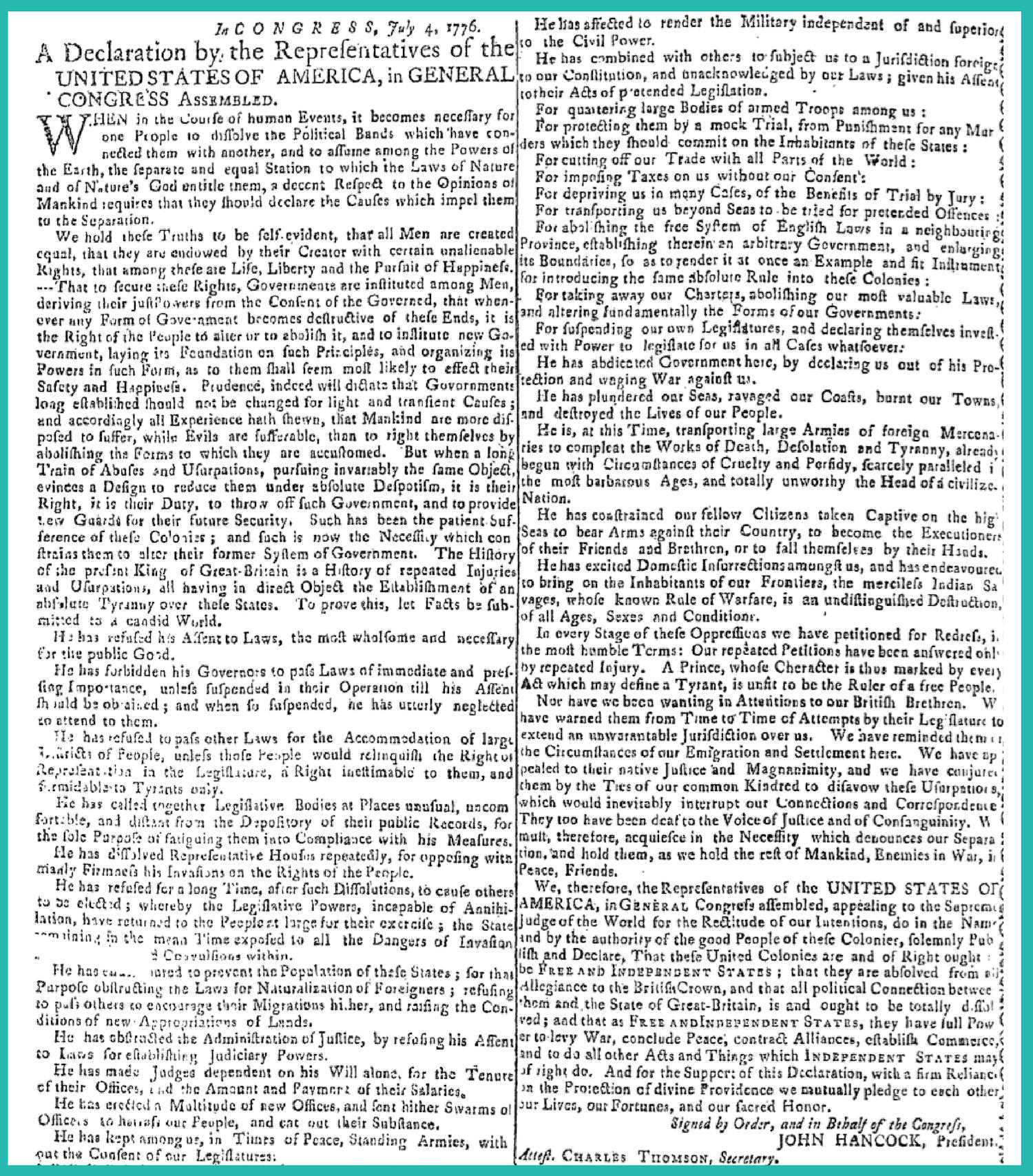 Clip of The Connecticut Journal for Comparison