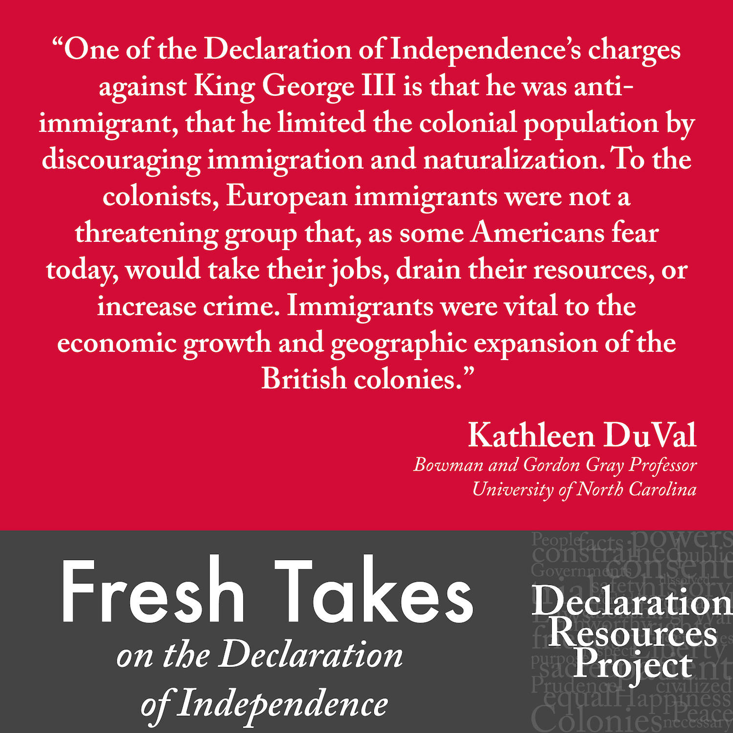 Kathleen DuVal's Fresh Take on the Declaration of Independence
