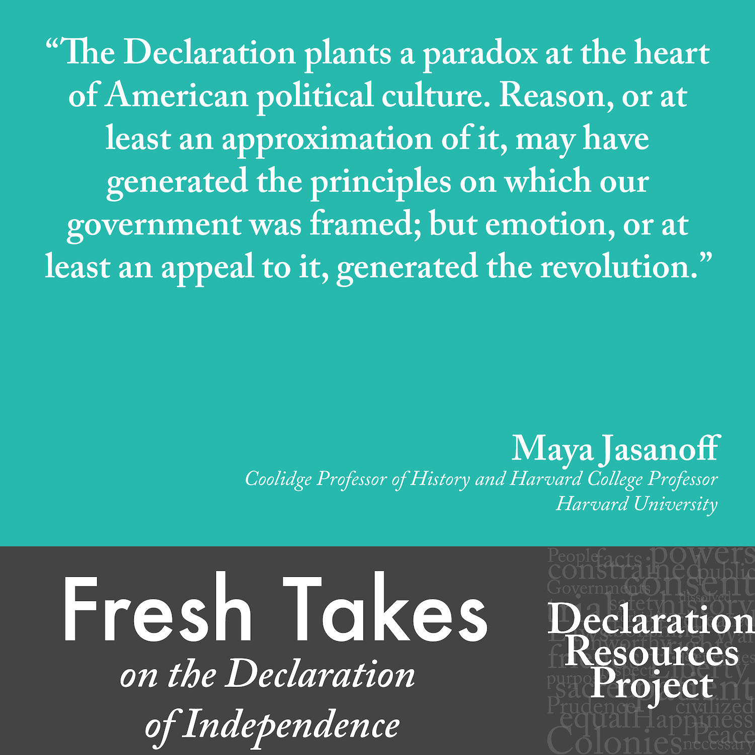 Maya Jasanoff's Fresh Take on the Declaration of Independence