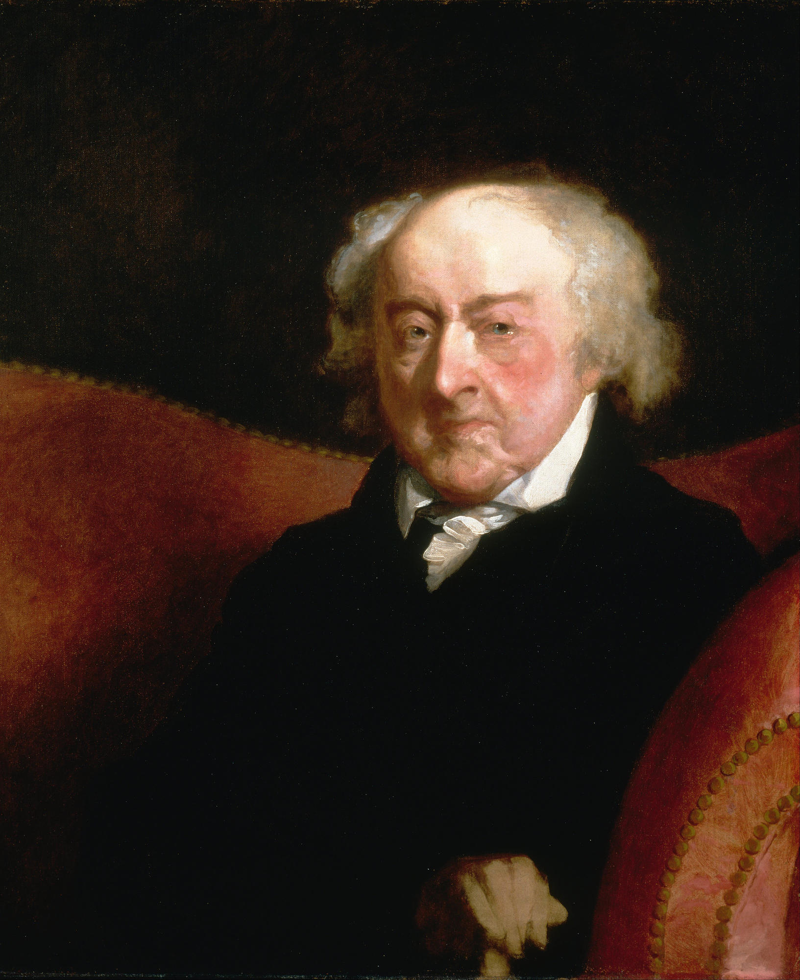 Gilbert Stuart, Portrait of John Adams, 1826