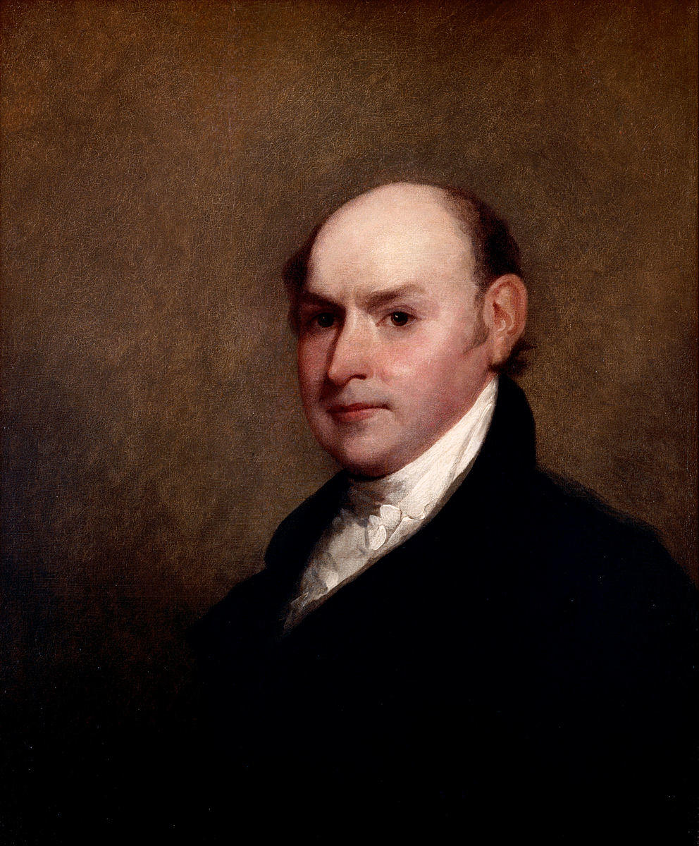 Gilbert Stuart, Portrait of John Quincy Adams, 1818