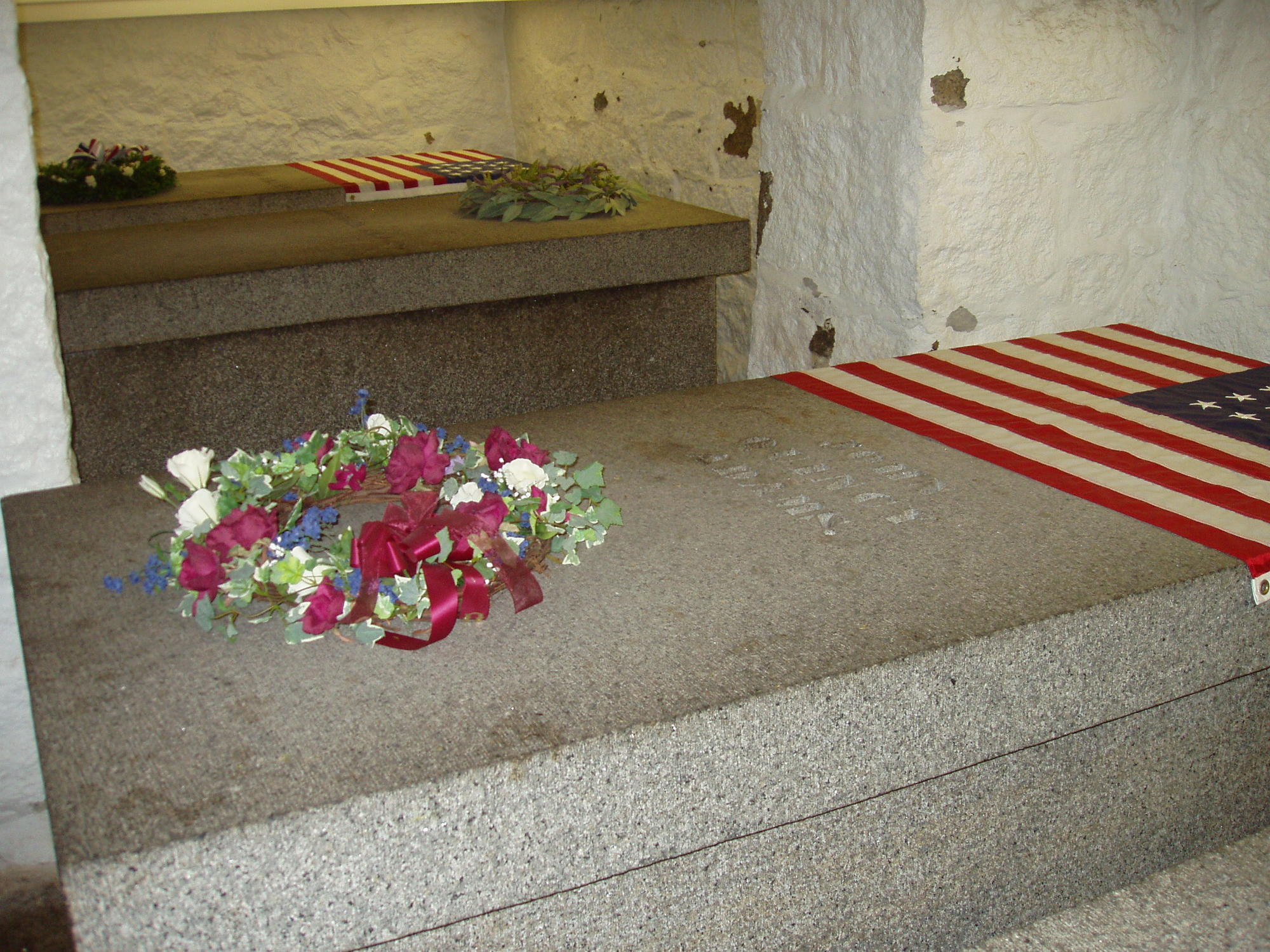 Graves of John Quincy Adams and His Parents