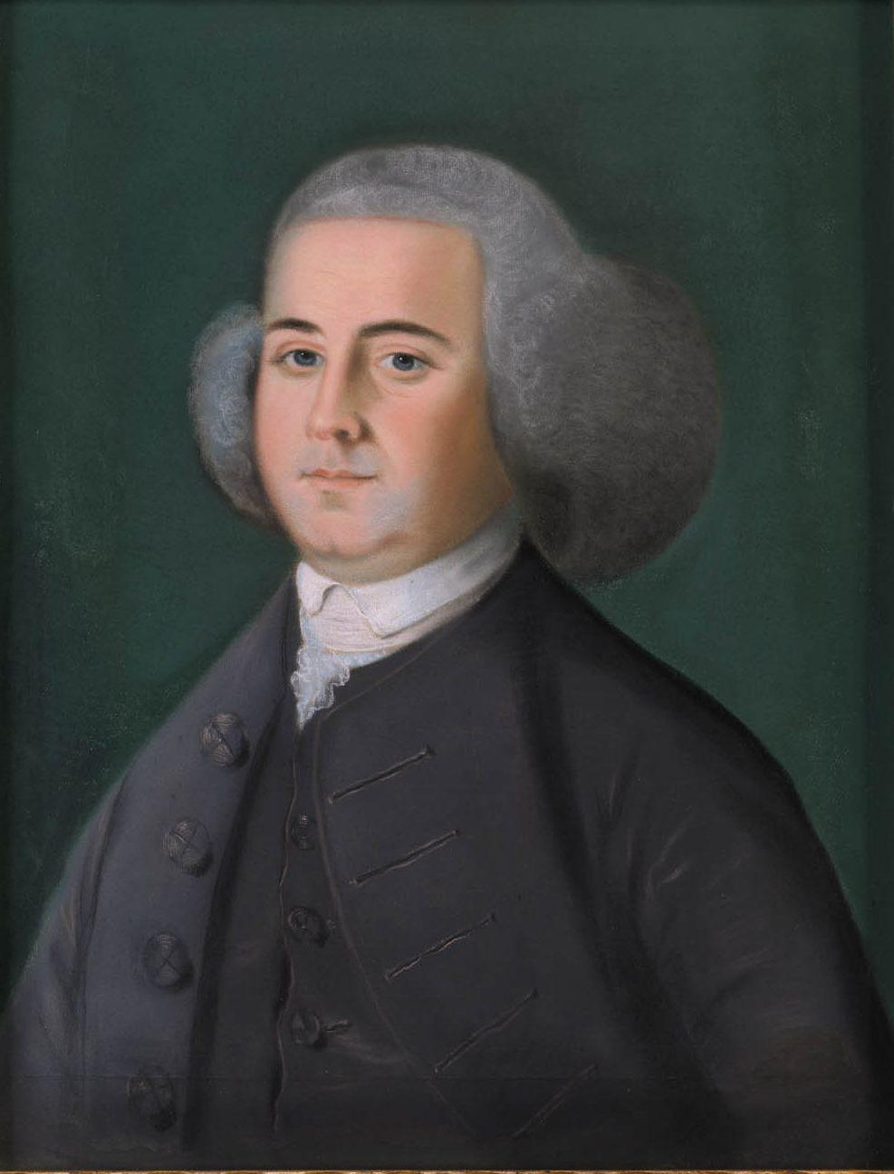 Benjamin Blyth, Portrait of John Adams, 1766