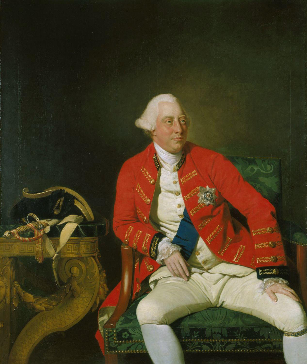 Portrait of King George III, Johann Zoffany, 1771