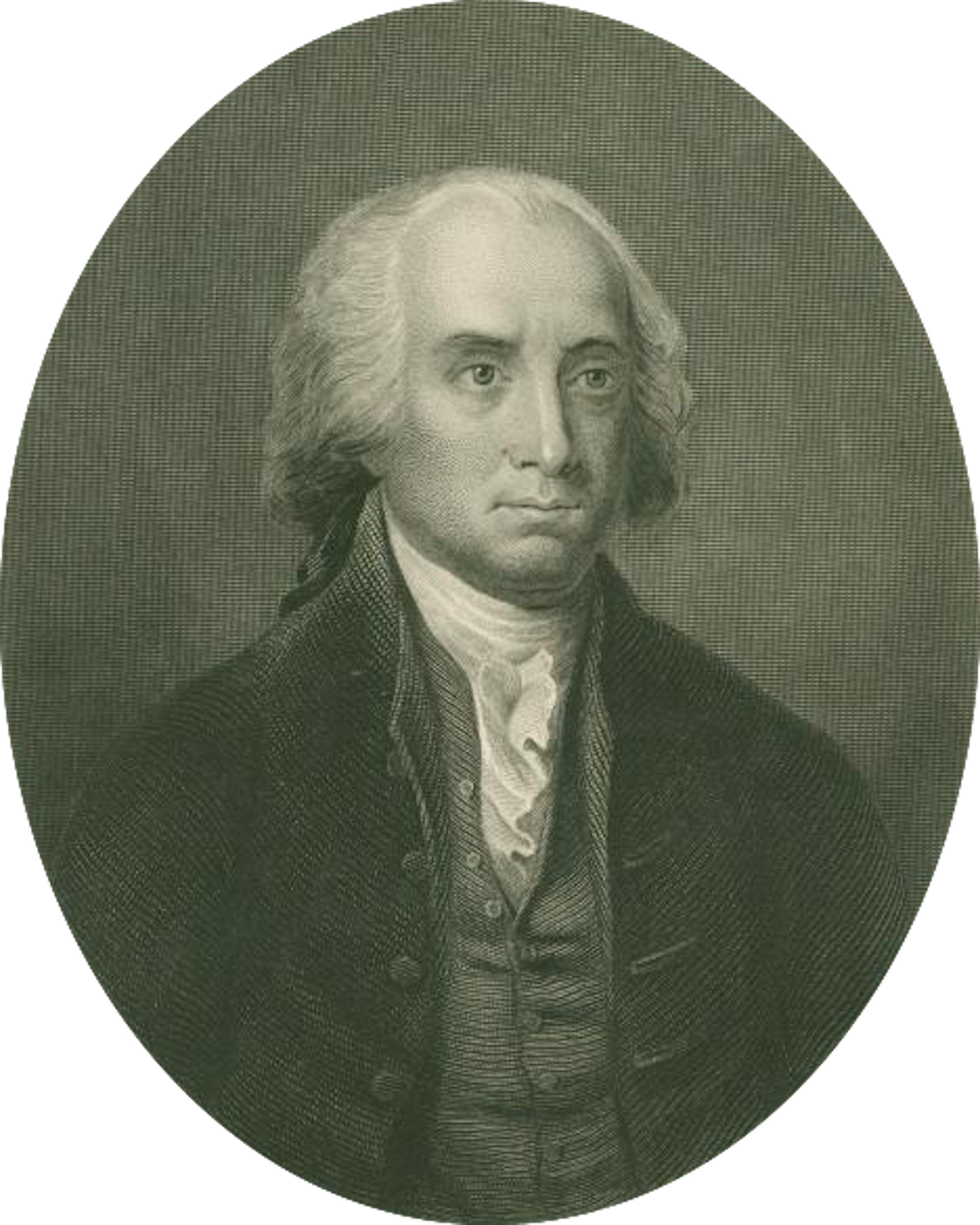Portrait of James Madison, Courtesy of NYPL Digital Library