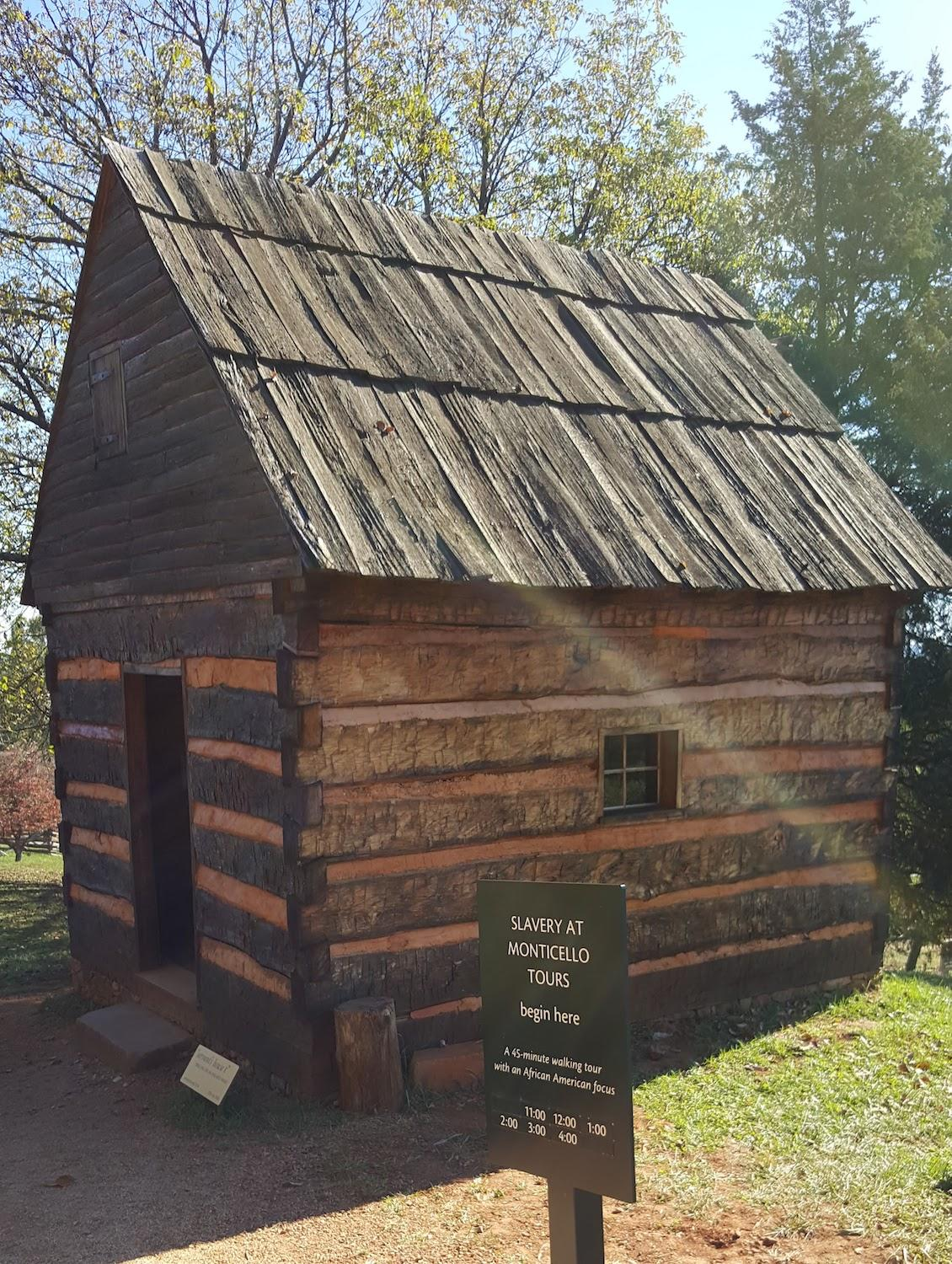 Reconstructed Dwelling at Monticello