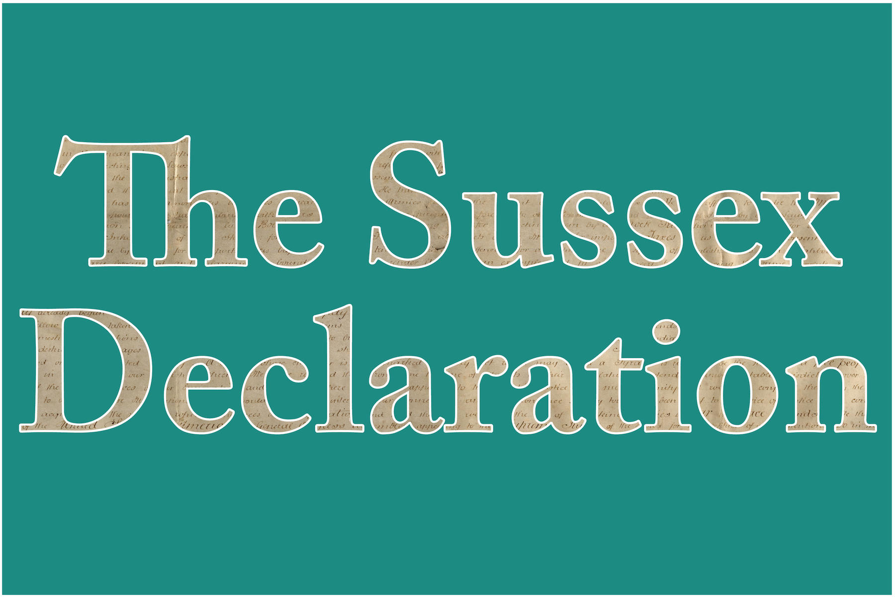 The Sussex Declaration