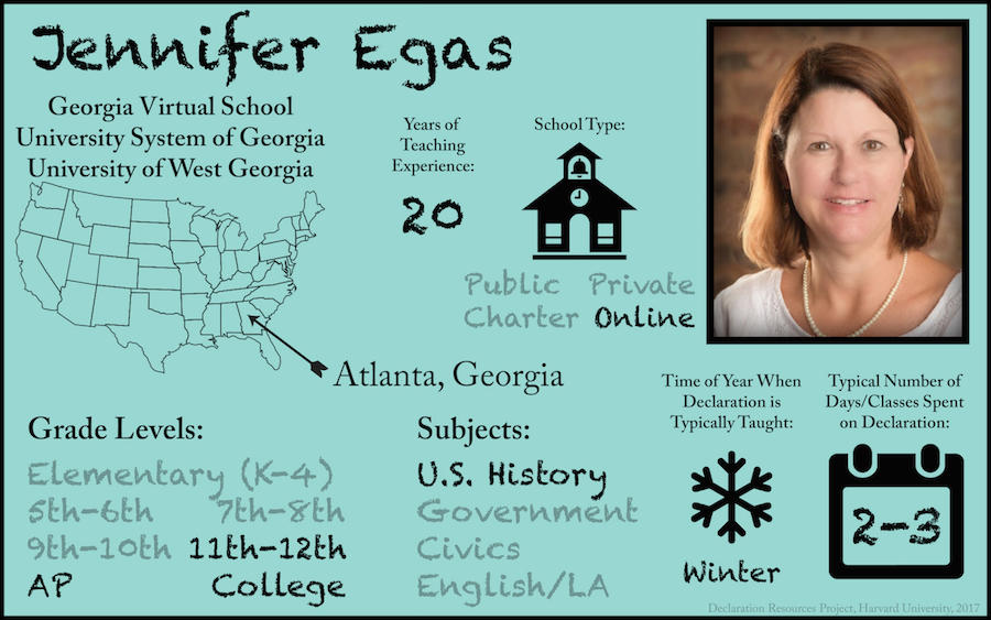 Jennifer Egas Teacher Profile