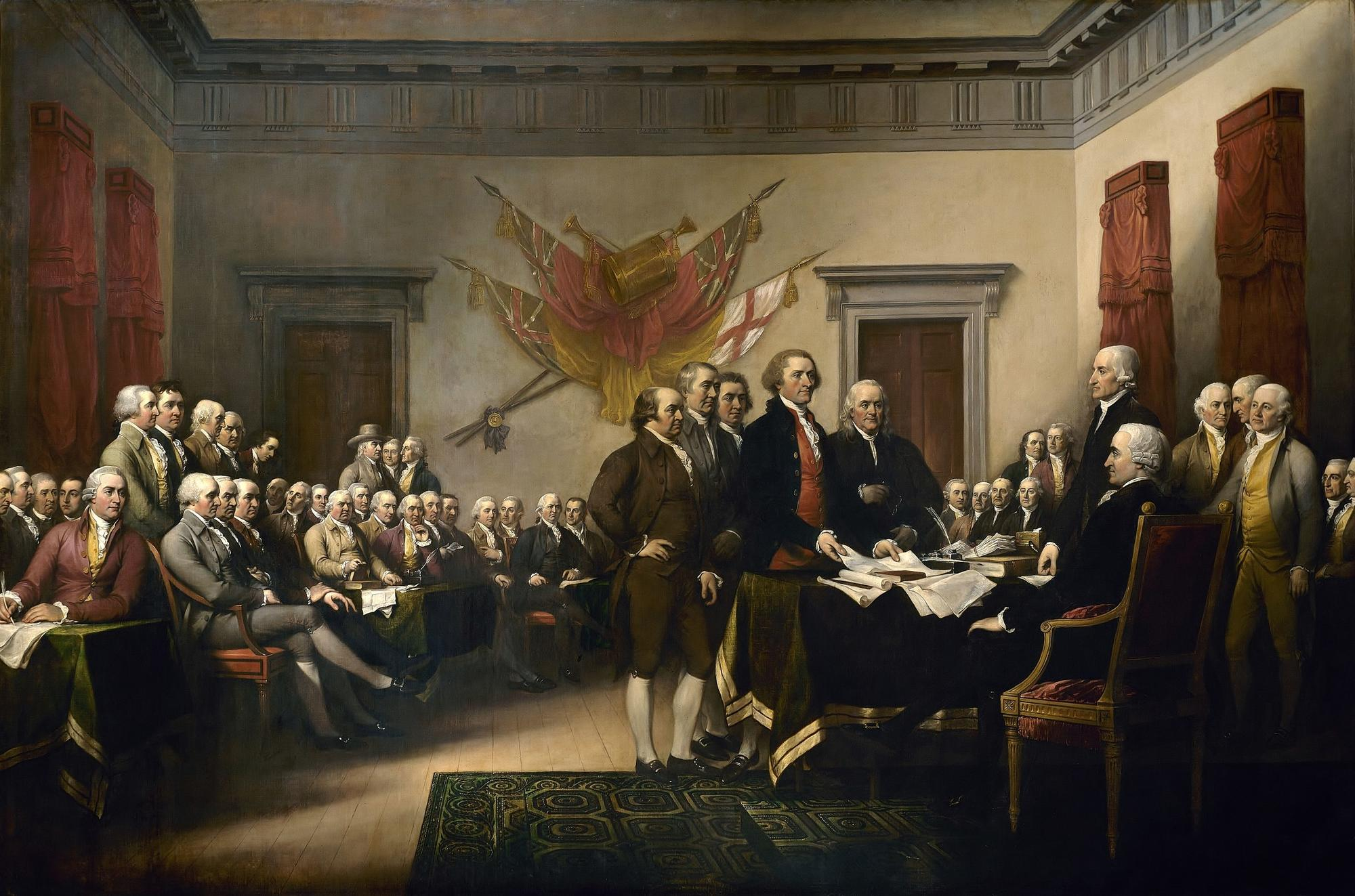 Trumbull's Declaration of Independence