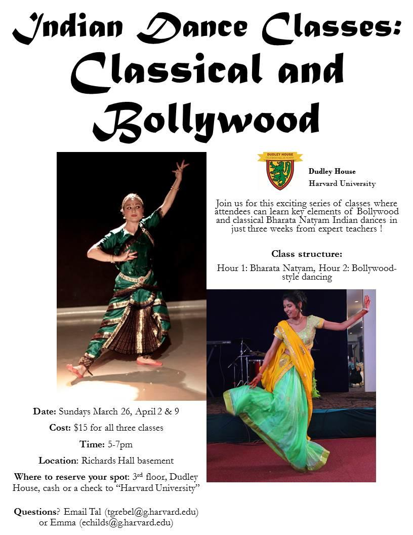 Classical and Indian dance