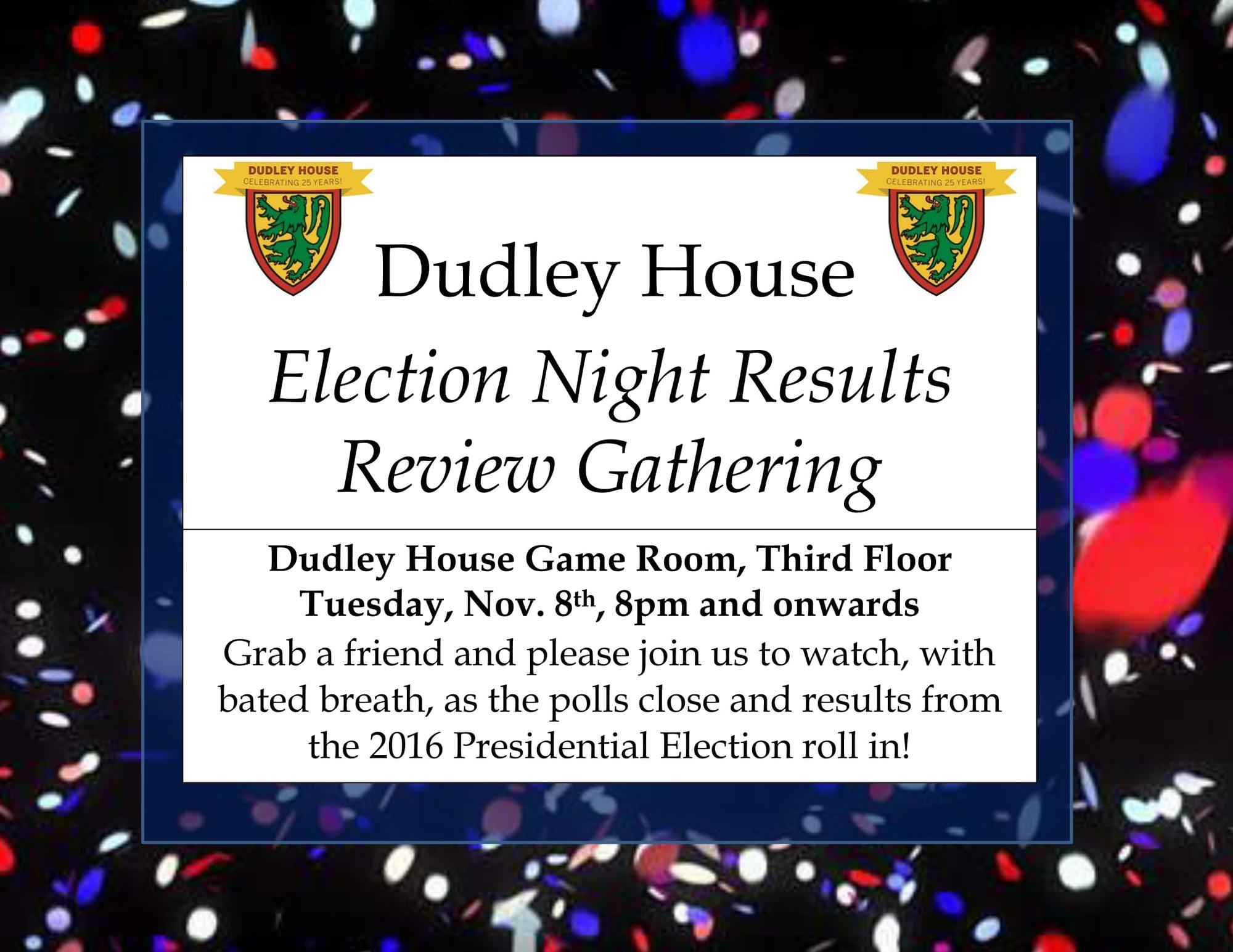 Past Events | Dudley House