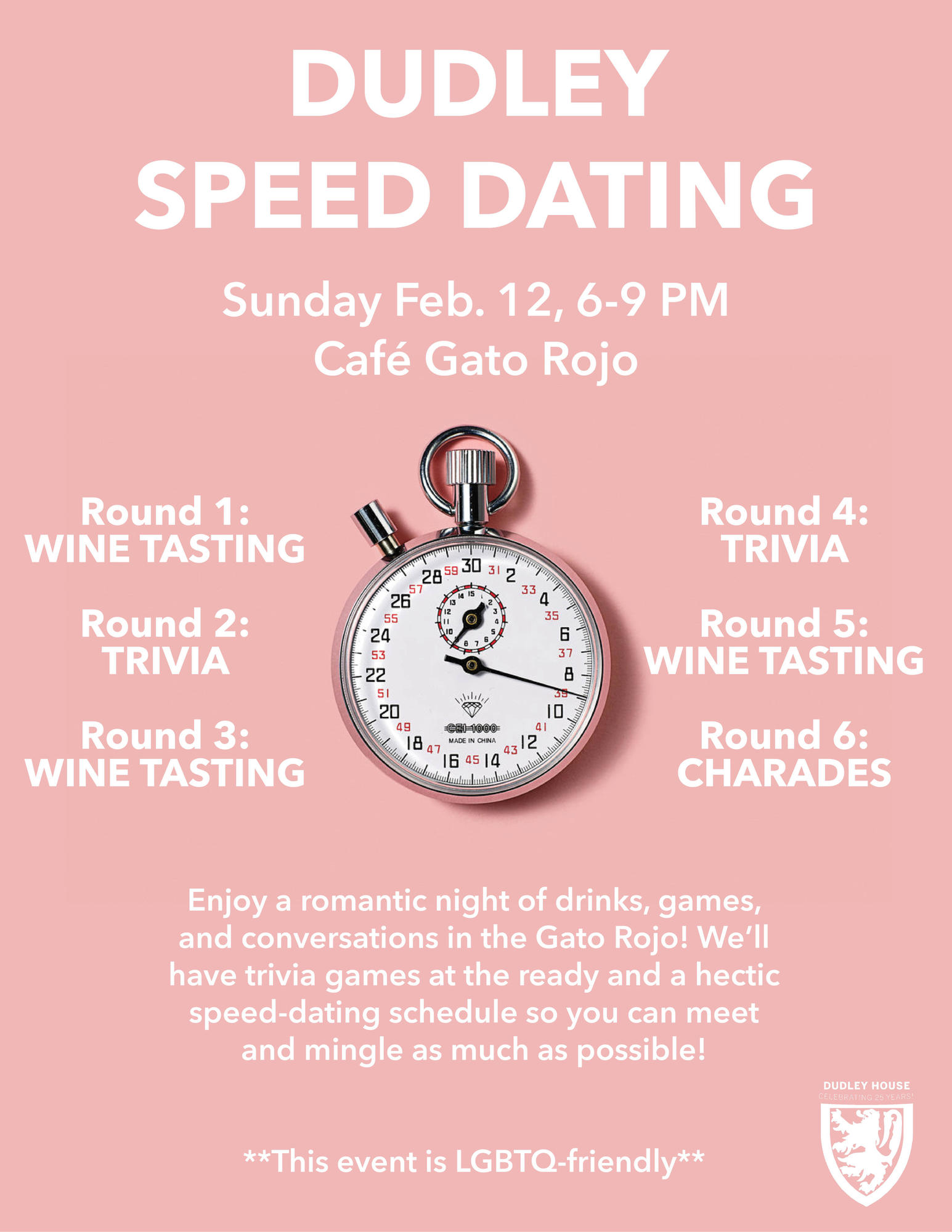 Dudley Speed Dating