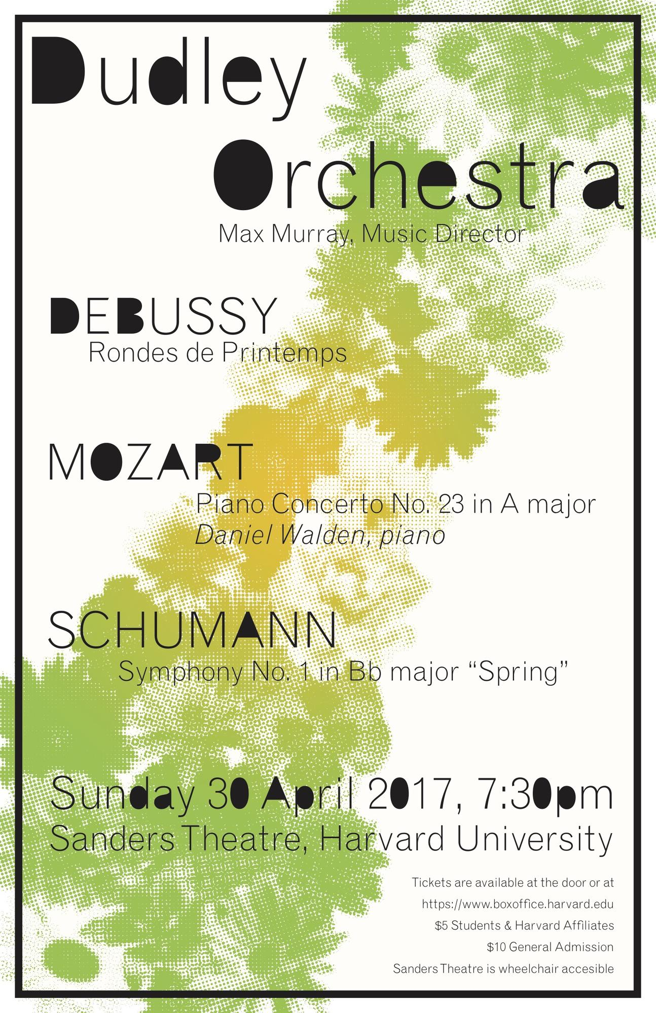 Orchestra Spring Poster
