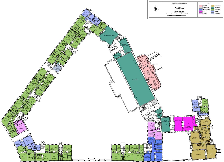 Floorplans Eliot House Harvard University