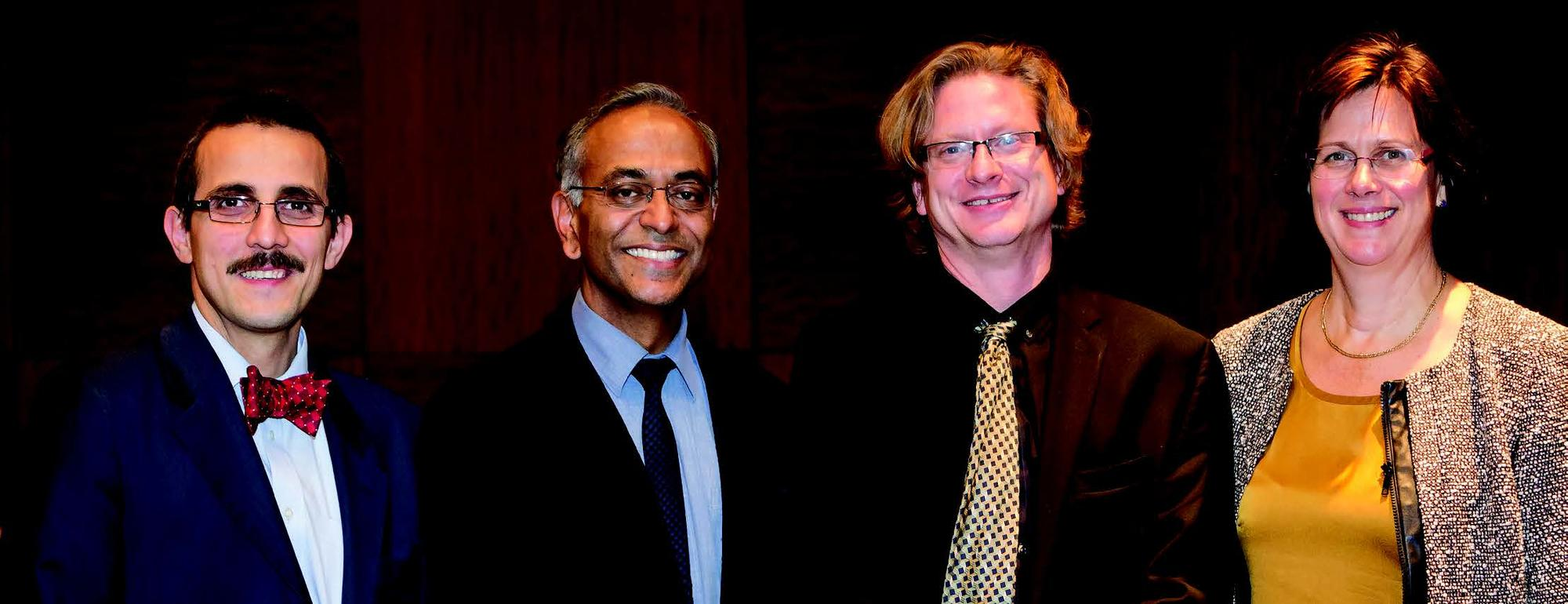 Demetrios Vavvas, MD, PhD, Pawan Sinha, PhD, Michael Young, PhD, and Joan W. Miller, MD, FARVO