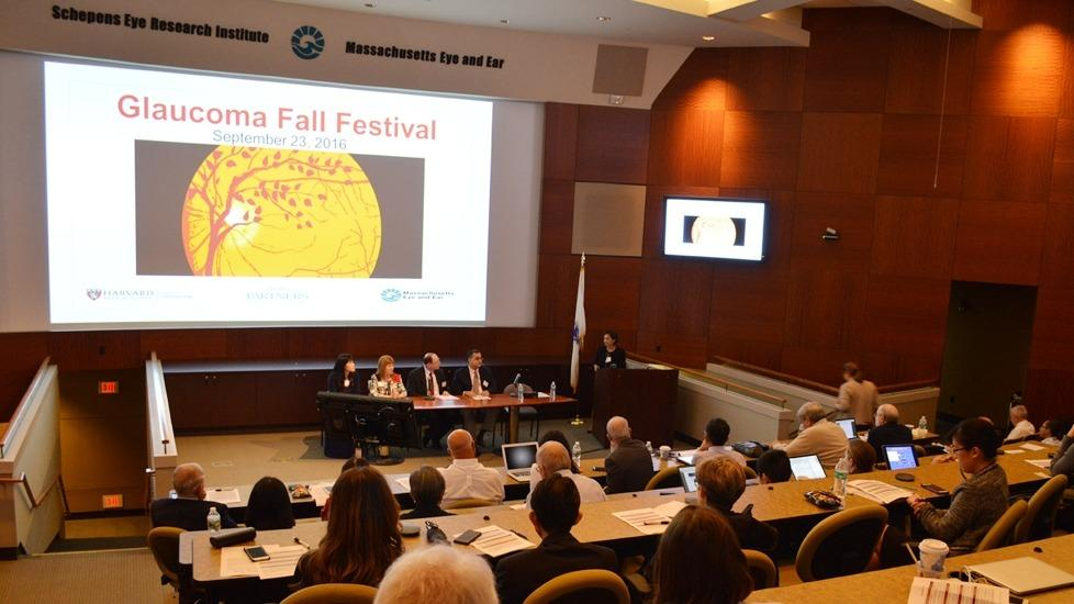 The inaugural Glaucoma Fall Festival at the Starr Center at Mass Eye and Ear