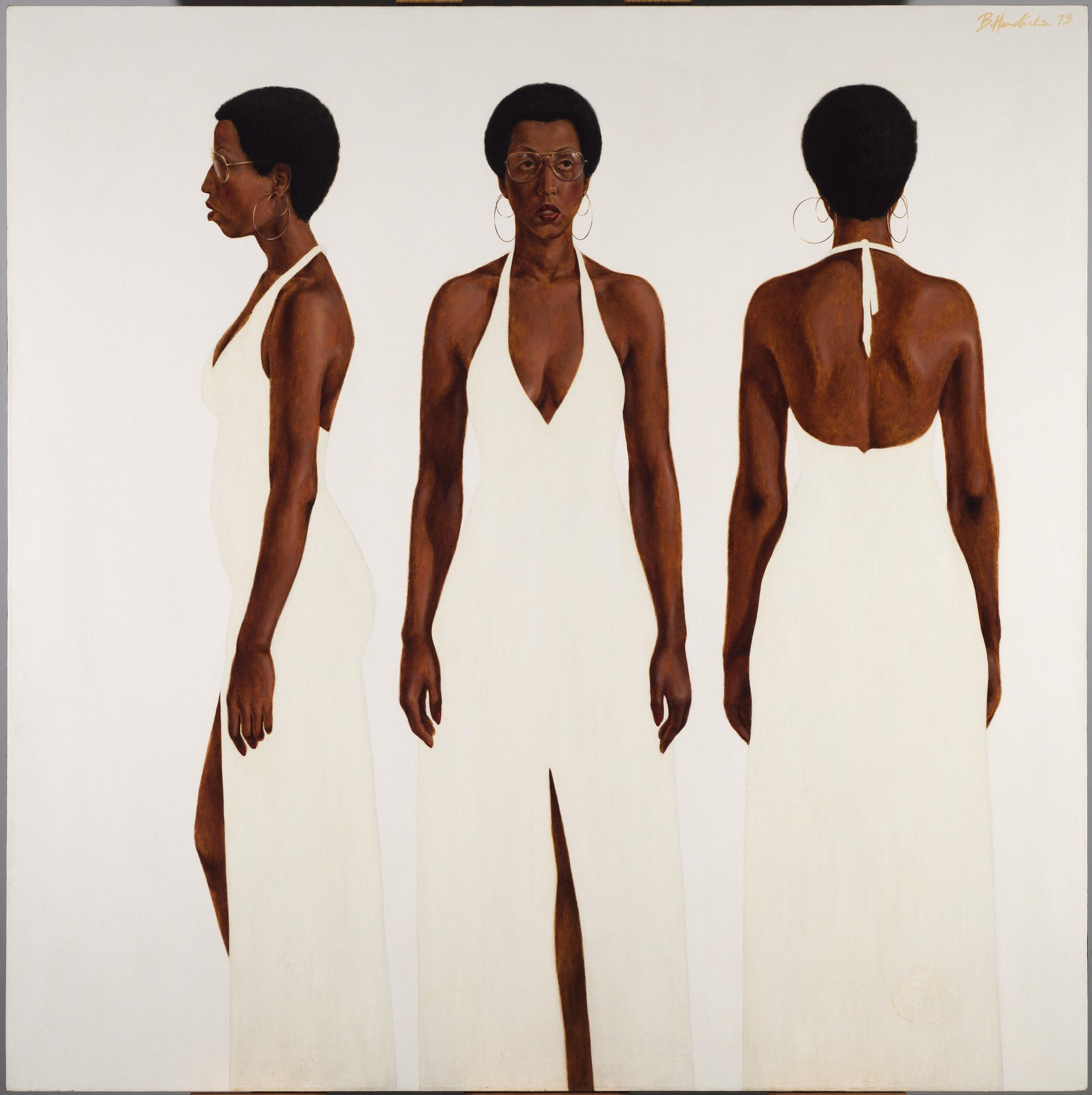 Barkley Hendricks painting, 'October's Gone...Goodnight'