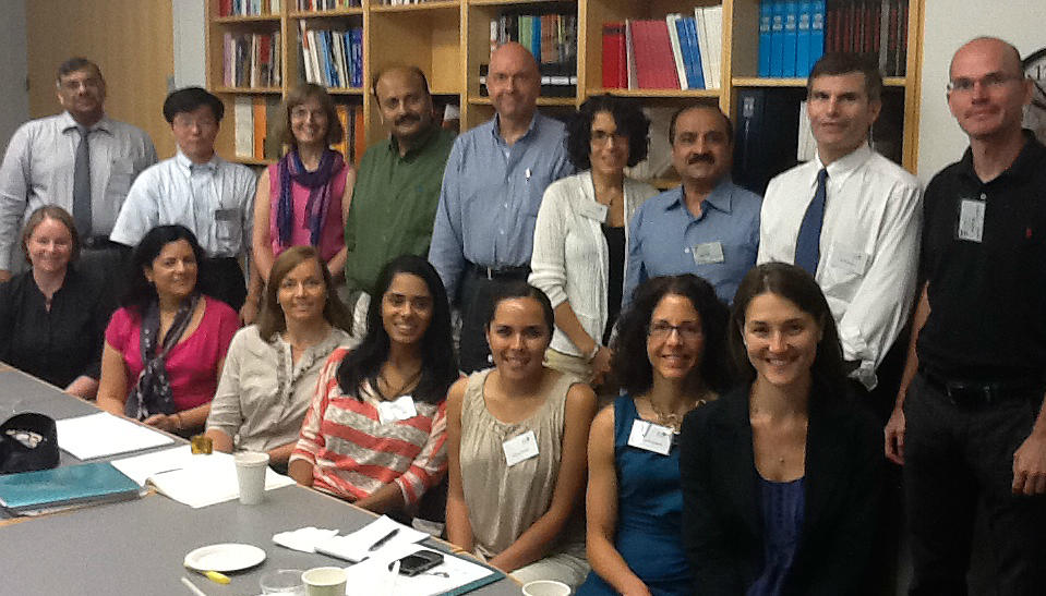 First Faculty Network meeting, 2012
