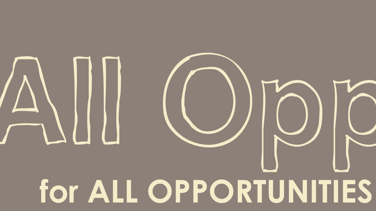 Opportunities - All