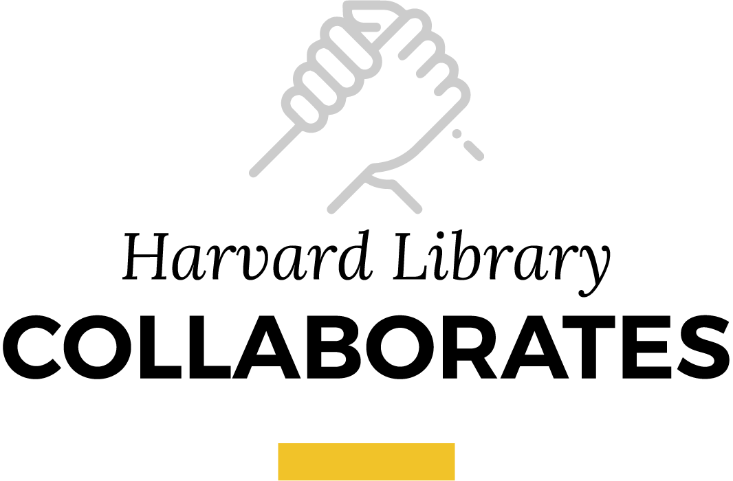 Harvard library collaborates