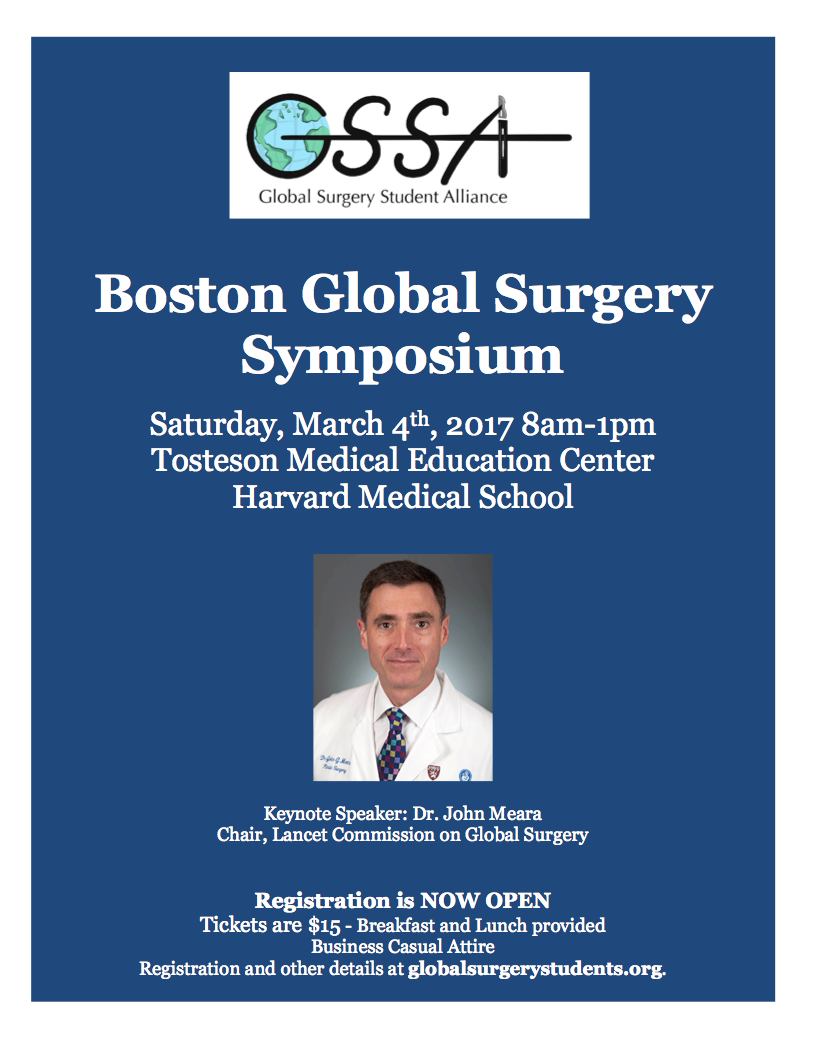 Boston Global Surgery Symposium