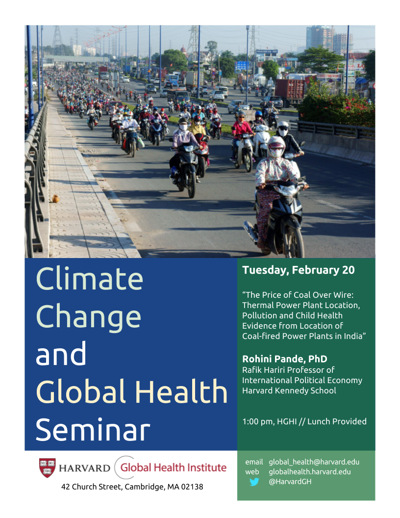 GlobalHealthClimateChangeFlyer