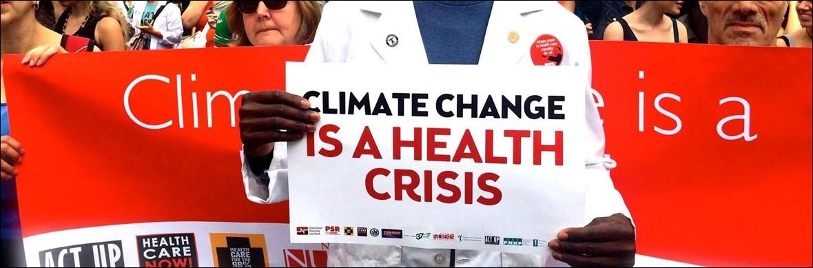 Climate Change is Health Crisis